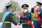 Бүгүн, 2-майда, Кыргызстан Казакстандын Жеңиш эстафетасын өткөрүп алды