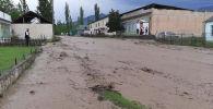 Жалал-Абад облусунун Аксы районуна караштуу Жаңы-Жол айылында сел жүрдү