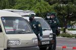 Ташкенттеги блокпост. Архивдик сүрөт