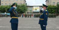 Эстафету Победы встретили в городе Ош. 06 мая 2020 года