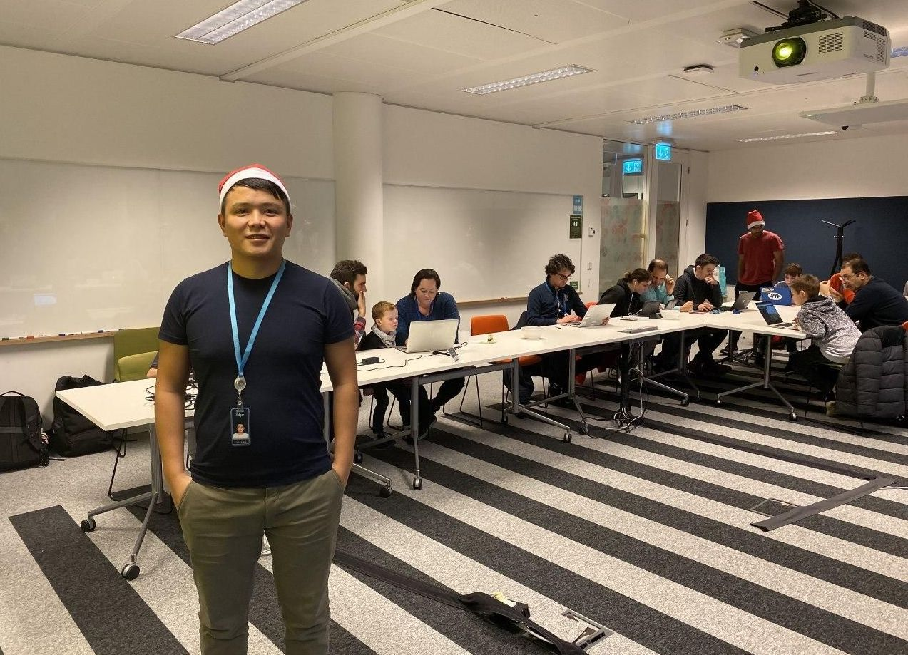 Инженер-программист в компании Amazon Талгар Марлис уулу
