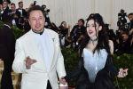 Глава Tesla и SpaceX Элон Маск и певица Греймс. Архивное фото