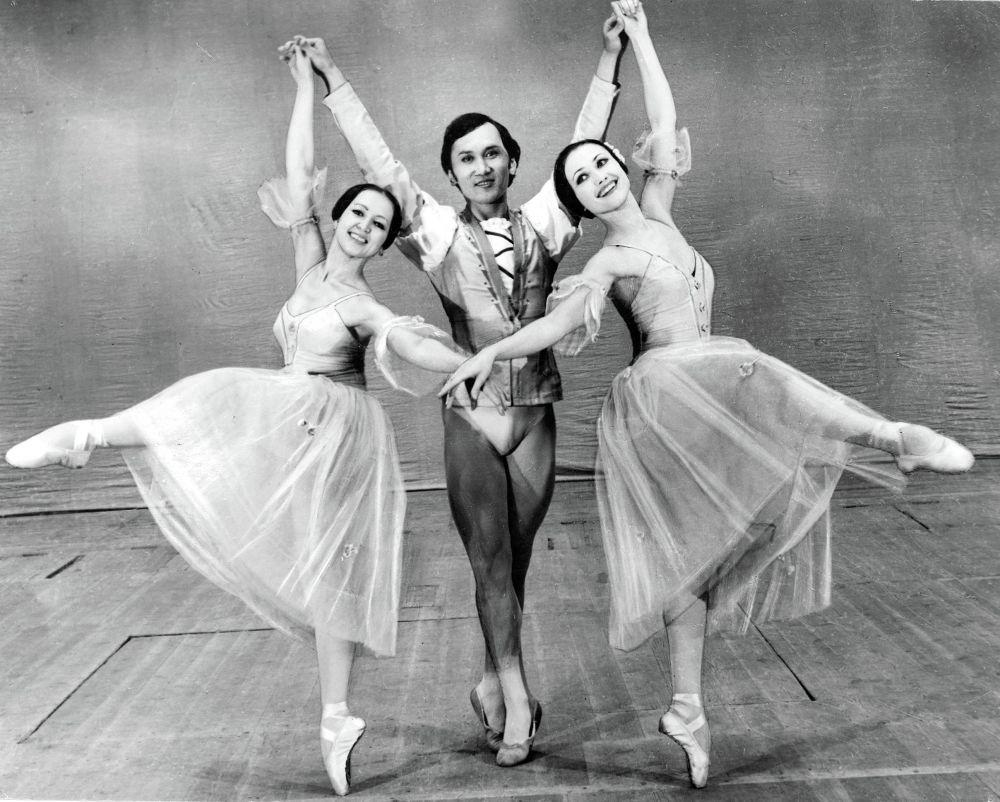 Знаменитый балетмейстер, Народный артист КР Мелис Асылбашев