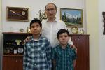 Кыргызстандын Юстиция министри Марат Жаманкулов жаны анын эки уулу Sputnik агенттигинин Фронт жаңырыгы долбооруна катышты.