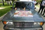 Кара-Сууда согуштун эки ардагерине автоунаа белекке берилди