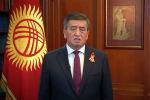 Президент Кыргызстана Сооронбай Жээнбеков поздравил кыргызстанцев с 75-летием Победы в Великой Отечественной войне.