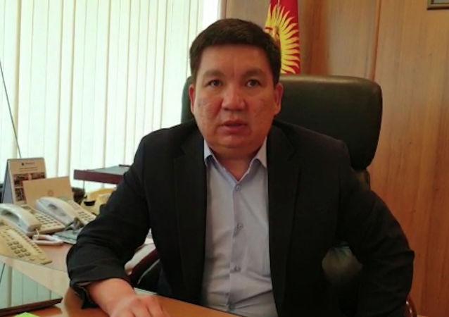 Министр транспорта и дорог Кыргызстана Жанат Бейшенов присоединился к проекту Sputnik Фронтовая перекличка.