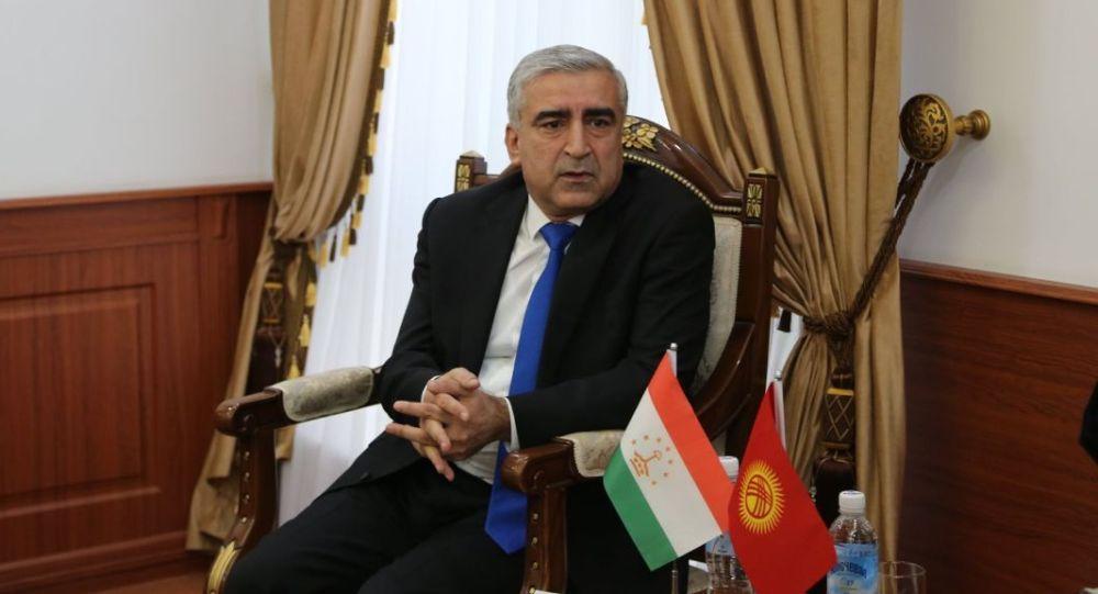 Чрезвычайный и Полномочный Посол Республики Таджикистан в Кыргызской Республике Назирмада Ализода. Архивное фото