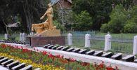 В Бишкеке в честь 75-летия Победы отремонтировали госпитальное воинское кладбище Кызыл-Аскер