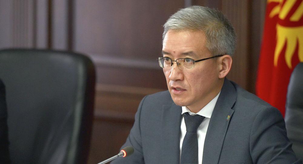 Кыргыз Республикасынын вице-премьер-министри Эркин Асрандиев. Архив