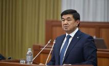 Экс-премьер-министр Мухаммедкалый Абылгазиев. Архив