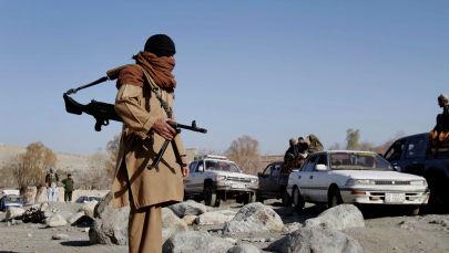 Талибан кыймылынын согушкери. Архив