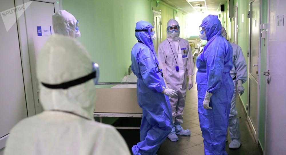Врачи городской больницы. Архивнное фото
