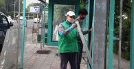 Ош шаарында аялдамаларды оңдоп-түзөө иштери башталды