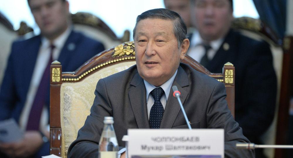Архивное фото экс-спикера Жогорку Кенеша Мукара Чолпонбаева