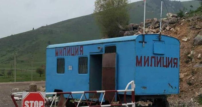В Иссык-Кульской области на джайлоо Каркыра начал функционировать временный милицейский пост.
