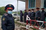 Ысык-Көл облусунун Каркыра жайлоосунда убактылуу милиция посту