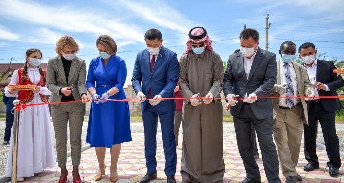 Строительство новой врачебной амбулатории на улице Ашар в «Ак Орго» завершено. 15 мая 2020 года