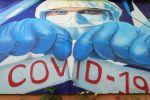 Красногорскто тартылган граффити. Архивдик сүрөт