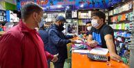 Бишкекте санитардык эрежелерди бузгандар