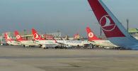 Международный аэропорт имени Ататюрка в Стамбуле. Архивное фото