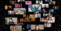 Участники отмененного песенного конкурса Евровидение-2020 дистанционно исполнили песню Love Shine a Light. Видеоролик опубликован на официальном YouTube-канале Евровидения.