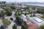 Улицы турецкого города остаются полупустыми, несмотря на ослабление ограничительных мер неделю назад.