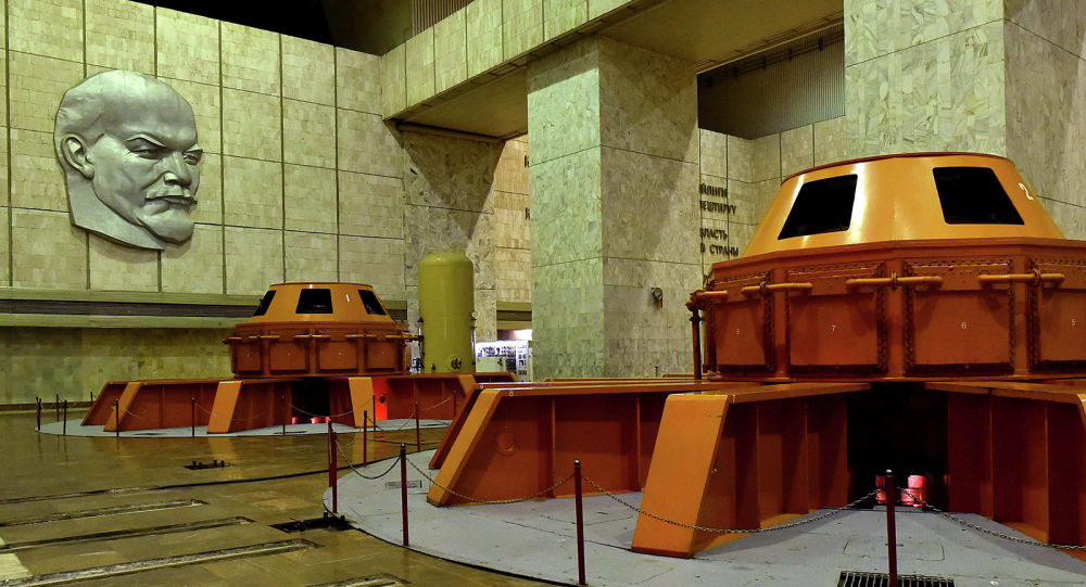 Трансформатор в Токтогульской ГЭС