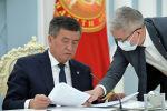 Кыргызстандын прездиенти Сооронбай Жээнбеков