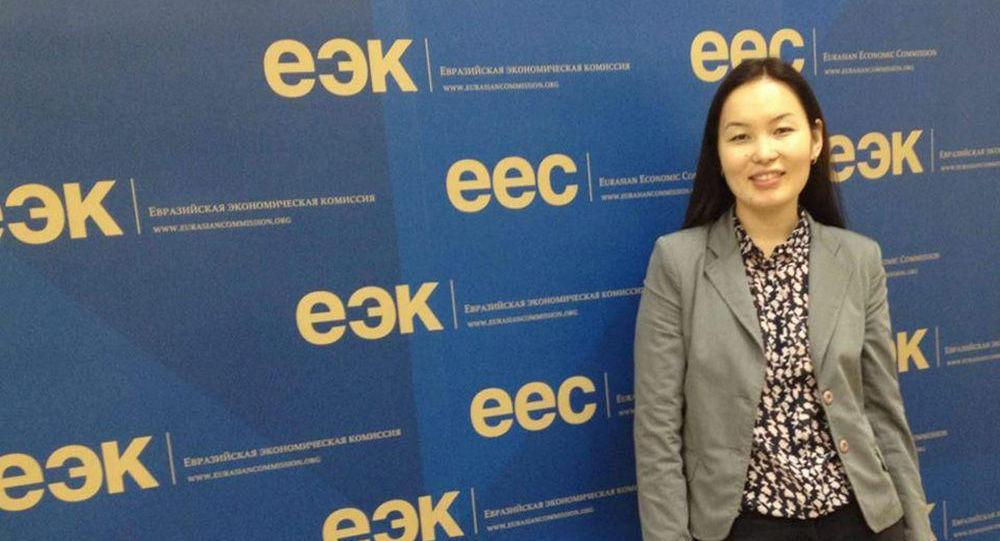 Эксперт-аналитик по вопросам энергетики Наргиза Касымова. Архивное фото