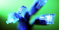 Кабели для подключения к интернету. Иллюстративное фото