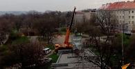 Ранее министр обороны России Сергей Шойгу обратился к чешским коллегам с просьбой вернуть монумент России в кратчайшие сроки.