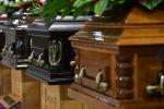Гробы. Архивное фото