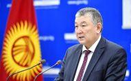 Заместитель министра здравоохранения Нурболот Усенбаев. Архивное фото