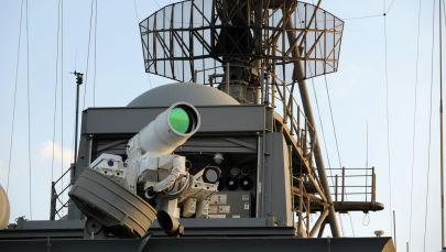 ВМС США проводят оперативную демонстрацию системы лазерного оружия. Архивное фото