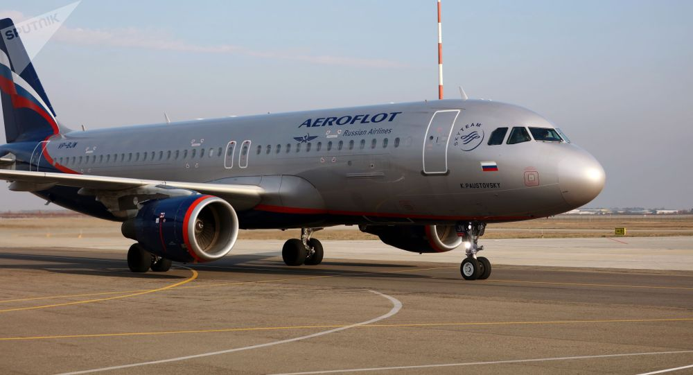 Самолет Airbus авиакомпании Аэрофлот. Архивное фото