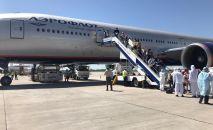Из Москвы в Бишкек прибыл борт с 393 кыргызстанцами. 26 мая
