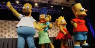 Персонажи мультсериала Симпсоны. Архивное фото