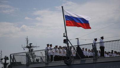 РФтин Аскер-деңиз флоту. Архивдик сүрөт