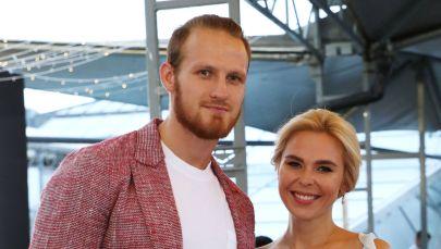 Певица Пелагея с мужем хоккеистом Иваном Телегиным. Архивное фото