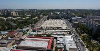 Бишкектеги Орто-Сай базары. Архивдик сүрөт