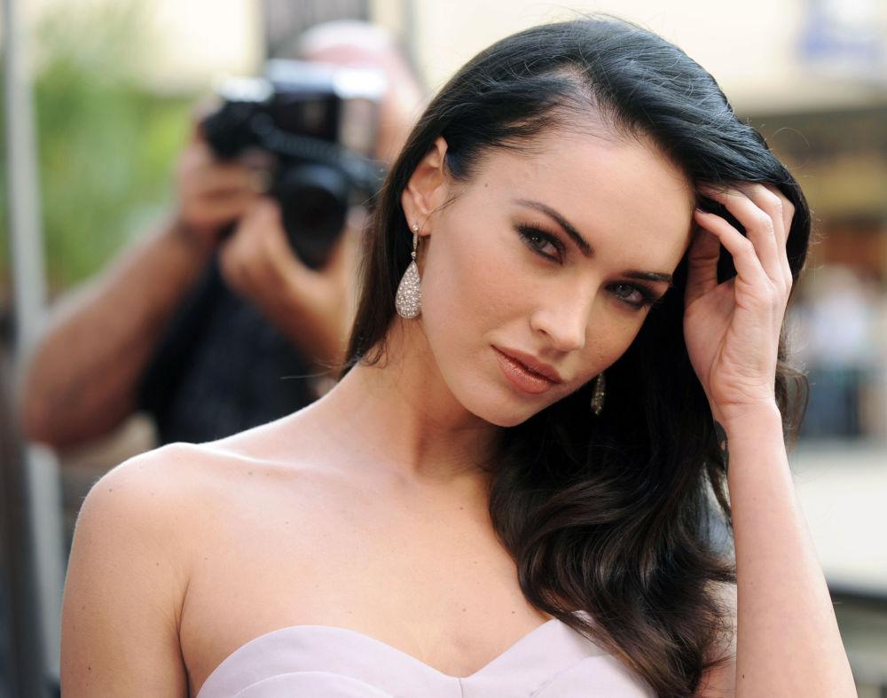 Американская актриса и модель Меган Фокс