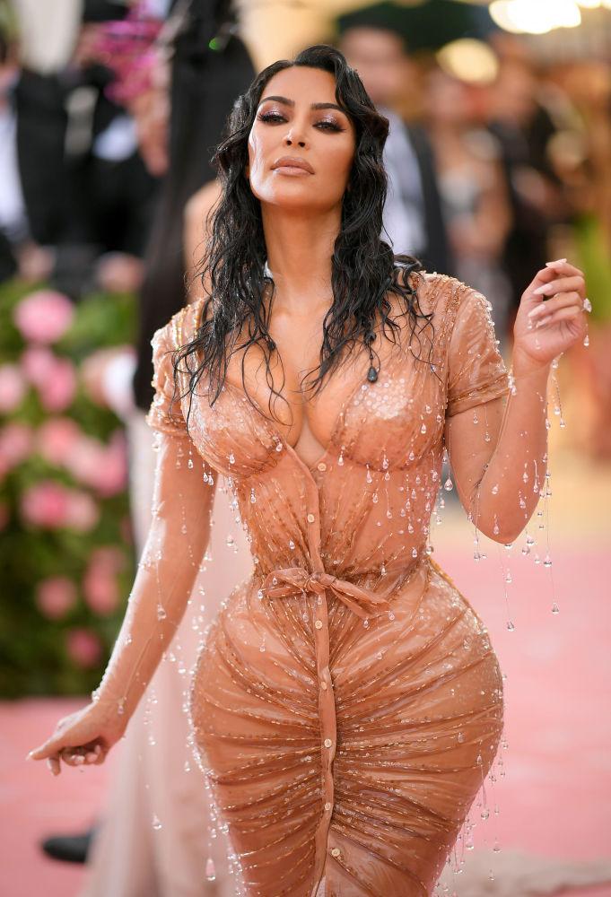 Американская телезвезда Ким Кардашьян
