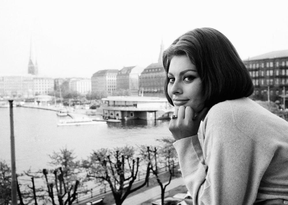 Итальянская актриса Софи Лорен, 1962 год