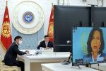 Президент Сооронбай Жээнбеков Коронавирус мезгилинде жана андан кийин өнүгүүнү каржылоо боюнча жогорку деңгээлдеги иш-чара аттуу видеоконференция форматындагы эл аралык форумга катышты