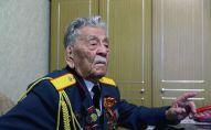 Ветеран Великой Отечественной войны, писатель и общественный деятель Асек Урманбетов. Архивное фото