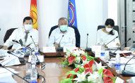 Заседание Республиканского оперативного штаба