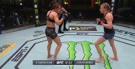 Абсолютный бойцовский чемпионат опубликовал видеоподборку лучших моментов турнира UFC on ESPN 9, в котором прошел поединок кыргызстанки Антонины Шевченко против американки Кэтлин Чукагян.