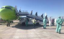 Бүгүн Бишкекке Новосибирск – Бишкек чартердик каттамы менен 177 кыргызстандык кайтып келди