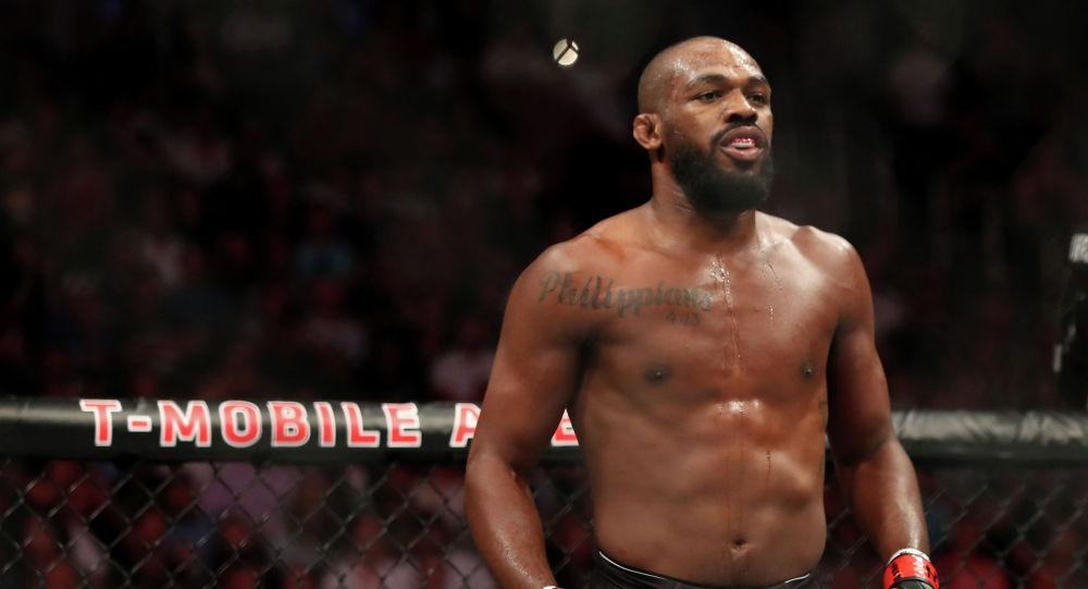 UFC уюмундагы эң мыкты мушкерлердин жалпы рейтингинин сап башында турган Жон Жонс. Архив
